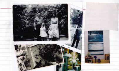 Kollage Zusammenstellung Familienbilder