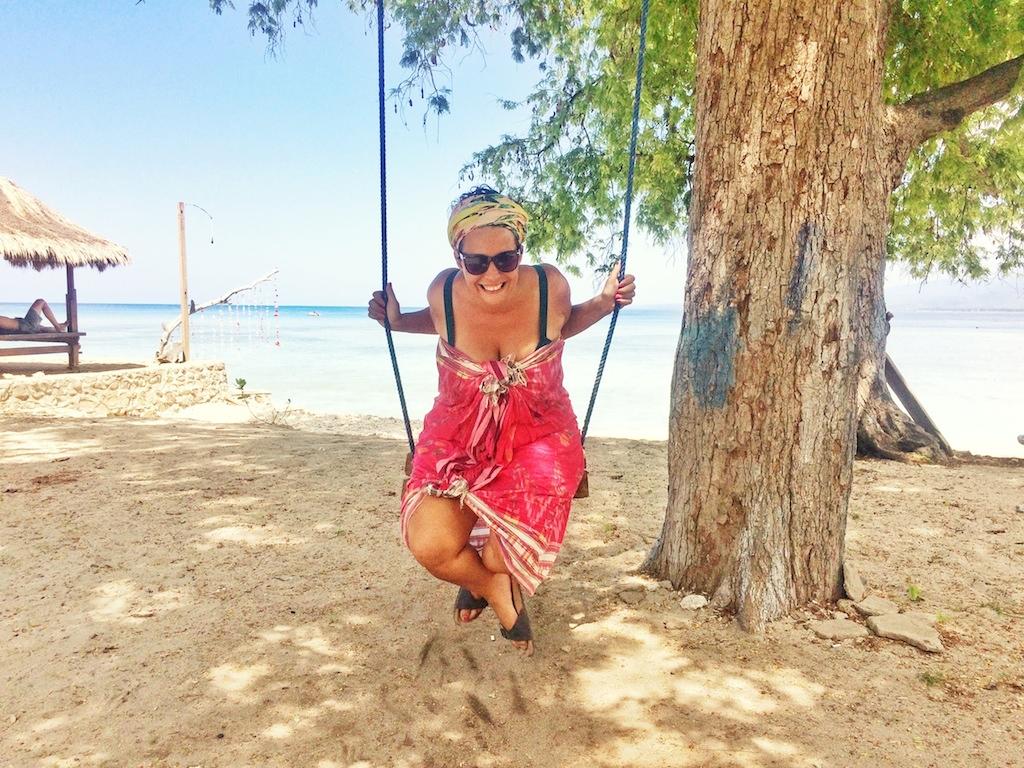 Anna-Zoe Schmidt auf Gili Islands