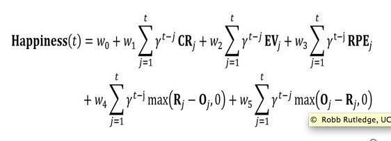 Glücksformel, erstellt von Forschern des University College London