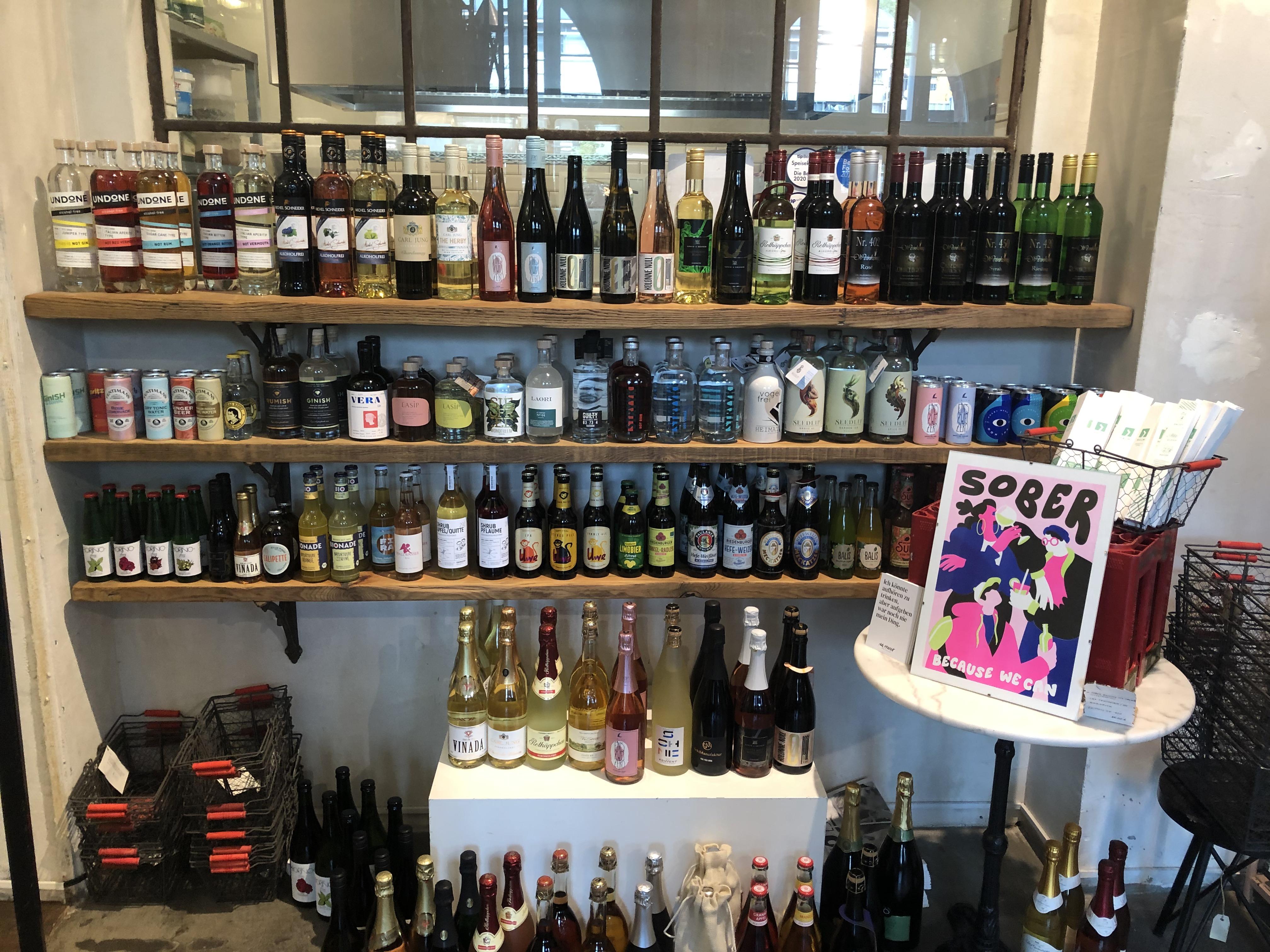 Sober, because we can: Der alkoholfreie Späti im Halleschen Haus